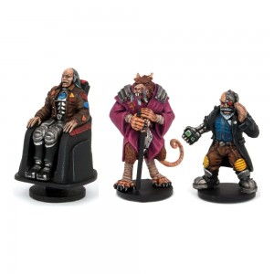 DreadBall - Coaches (3 Models)