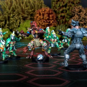 DreadBall - Galactic Tour Series: Azure Forest