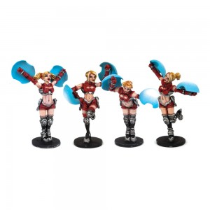 DreadBall - Cheerleaders (4 Models)