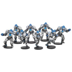 DreadBall - Trontek 29ers Corporation Team 8 Players