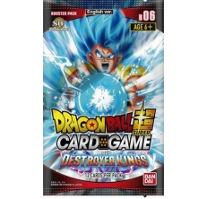 Dragon Ball Super Card Game: Destroyer Kings booster