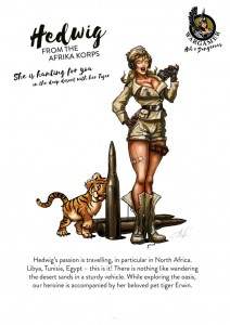 Hot & Dangerous: Hedwig from the Africa Corps (28mm)