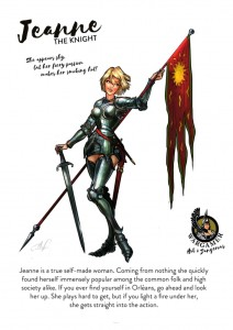Hot & Dangerous: Jeanne, the Knight (54mm)