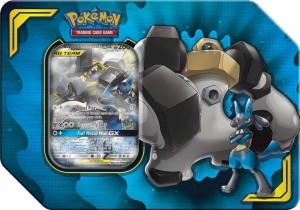 Pokemon: Tag Team Partnership Tin - Lucario&Melmetal GX