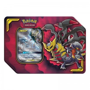 Pokemon: Tag Team Partnership Tin - Garchomp & Giratina GX