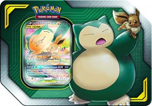 Pokemon: Tag Team Tin - Eevee & Snorlax GX