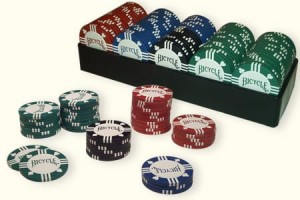 Bicycle: Premium Clay Poker Chips 100 8g