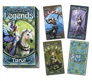 Tarot - Legends Tarot Anne Stokes