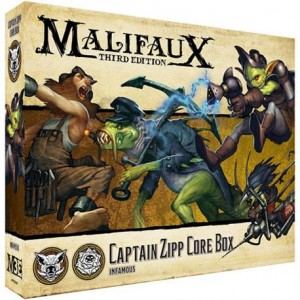 Malifaux: Captain Zipp Core Box