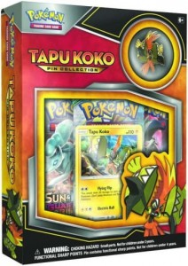 Pokémon TCG: Tapu Koko – Pin Collection