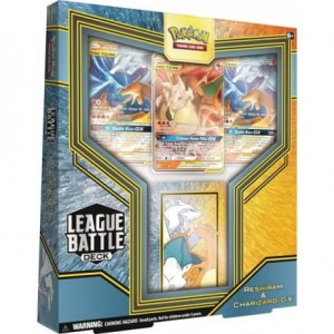 Pokemon TCG: League Battle Deck - Charizard & Reshiram GX