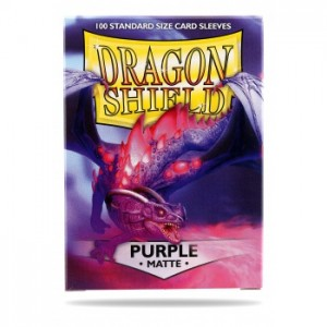 Dragon Shield Matte Purple (100 szt.)