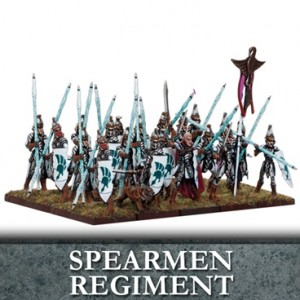 Elf Spearmen Regiment (20 figurek)