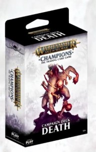 Warhammer Age of Sigmar: Champions Death Campaign Deck