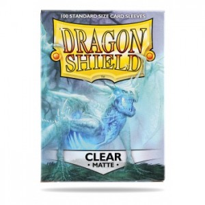 Dragon Shield Matte Clear (100 szt.)
