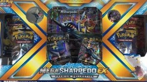 Pokemon: Mega Sharpedo EX Premium Collection