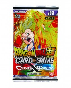 Dragon Ball Super Card Game: Cross Worlds booster