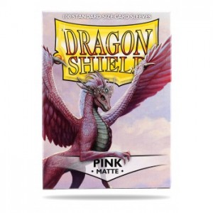 Dragon Shield Matte Pink (100 szt.)