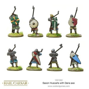 Saga: Saxon Huscarls with Dane Axe