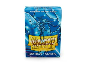 Dragon Shield Japanese (59x86mm) Art Sleeves - Classic Sky Blue (60 Sleeves)