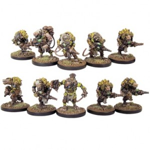 Veer-myn  Night Crawlers Section (10 figurek)