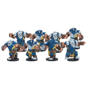 DreadBall - Midgard Delvers Forge Father Team 8 Players