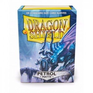 Dragon Shield Matte Petrol (100 szt.)