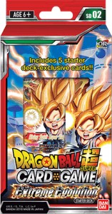 Dragon Ball Super Card Game: The Extreme Evolution starter