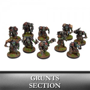 Marauder Grunts Section (10 figurek)