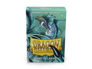 Dragon Shield Japanese (59x86mm) Art Sleeves - Classic Mint (60 Sleeves)