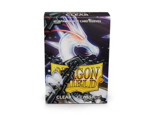 Dragon Shield Japanese (59x86mm) Art Sleeves - Classic Clear (60 Sleeves)